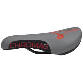 Chromag Overture - Sillín - gris/rojo